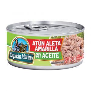 ATÚN CAPITAN MARINO ACEITE 140 GR