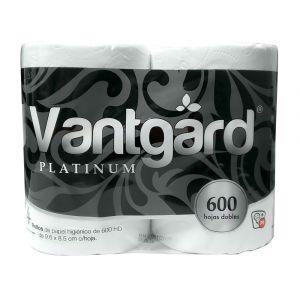 HIGIÉNICO VANTGARD PLATINUM 4 R 600 HOJAS